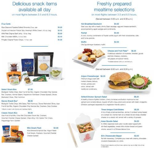 Food food equipment news continental airlines new meals for American continental cuisine